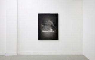 Sam Trioli Untitled (Heat) 2013 Oil on canvas 48 x 36 inches Installation view