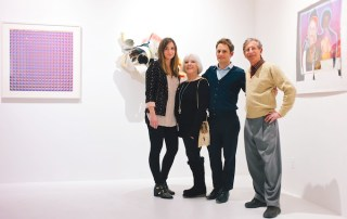 Opening night for M.O. (Modus Operandi) Exhibition at Ground Arts curated by Kelly Worman