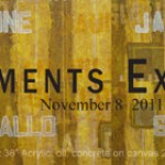 "The group exhibition ""4 + Elements"" at the historic Prince George Gallery in the Flatiron District"