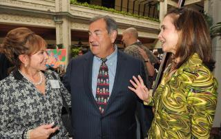 Philanthropist Swanee DiMare, CEO of Gribraltar Private Bank & Trust Adolfo Henriques and Frances Aldrich Sevilla-Sacaca CEO of Itau Bank Miami