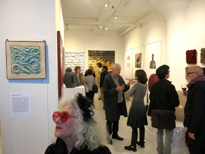 Opening night at Clen Gallery