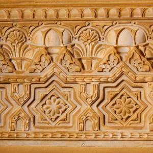 Moldura rabe mud jar artesanos juntos - Molduras de madera decorativas ...