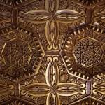 Techo mezquita árabe