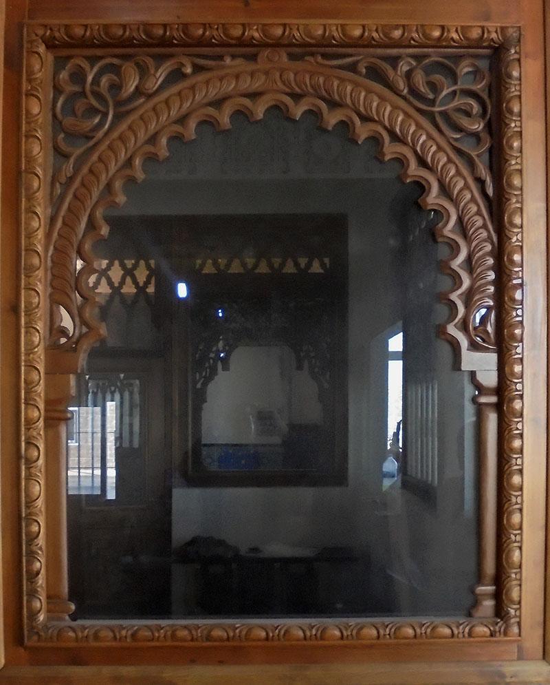 Arcos de madera mudejar mud jar artesanos juntos - Arcos decorativos para puertas ...