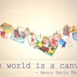 Display Kids' Art :: The World is a Canvas