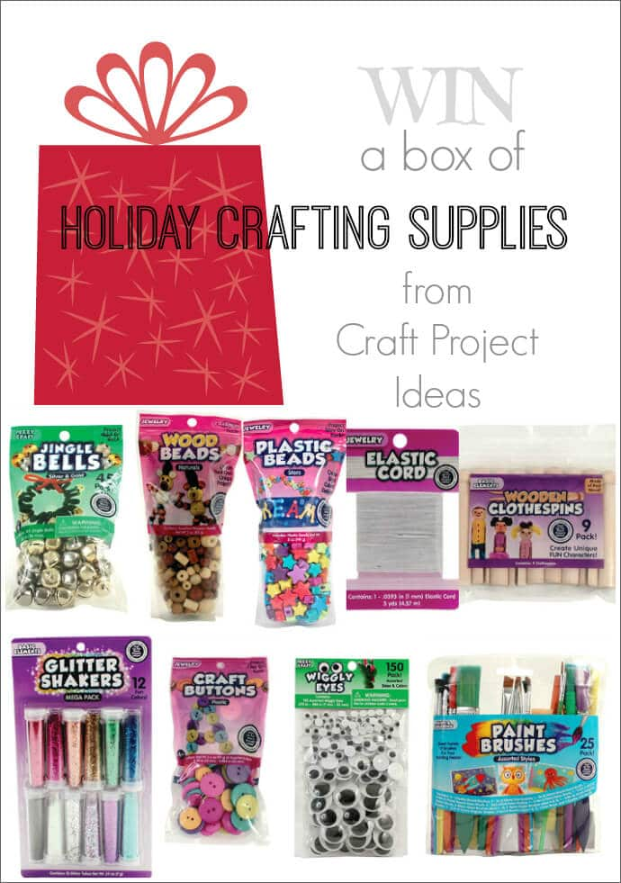 Win a Box of Holiday Crafting Supplies from Craft Project Ideas!
