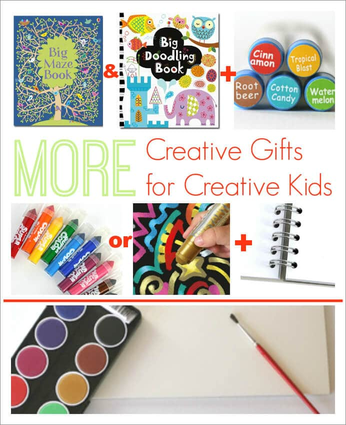 More Creative Gifts for Creative Kids