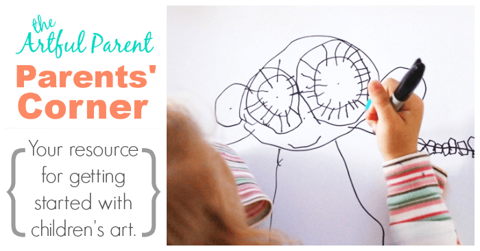 The Parents Corner on The Artful Parent - Your Resource for Getting Started with Childrens Art