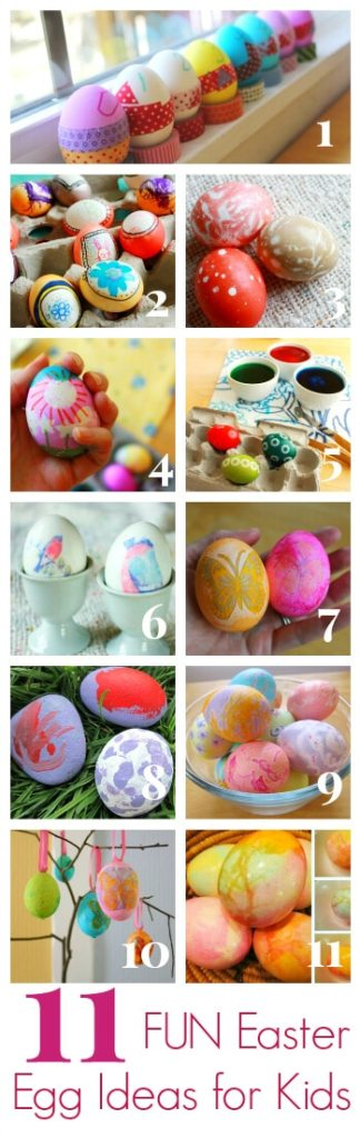 11 Fun Easter Egg Ideas for Kids