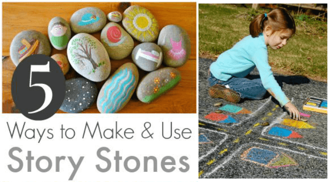 5 Ways to Make and Use Story Stones