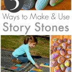 5 Story Stones Ideas :: Storytelling with Rocks
