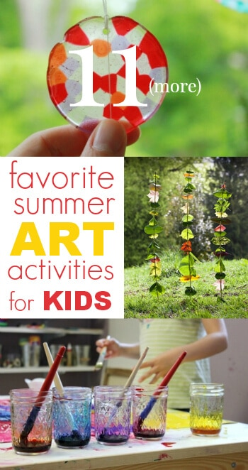 11 More Favorite Summer Art Activities for Kids