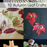 10 Autumn Leaf Crafts for Kids