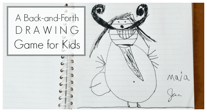A Back and Forth Drawing Game for Kids