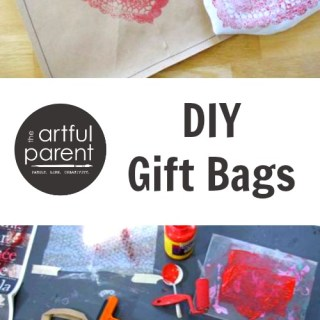 DIY Gift Bags for Valentines Day