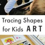 Tracing and painting shapes