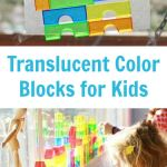 Translucent Building Blocks for Kids