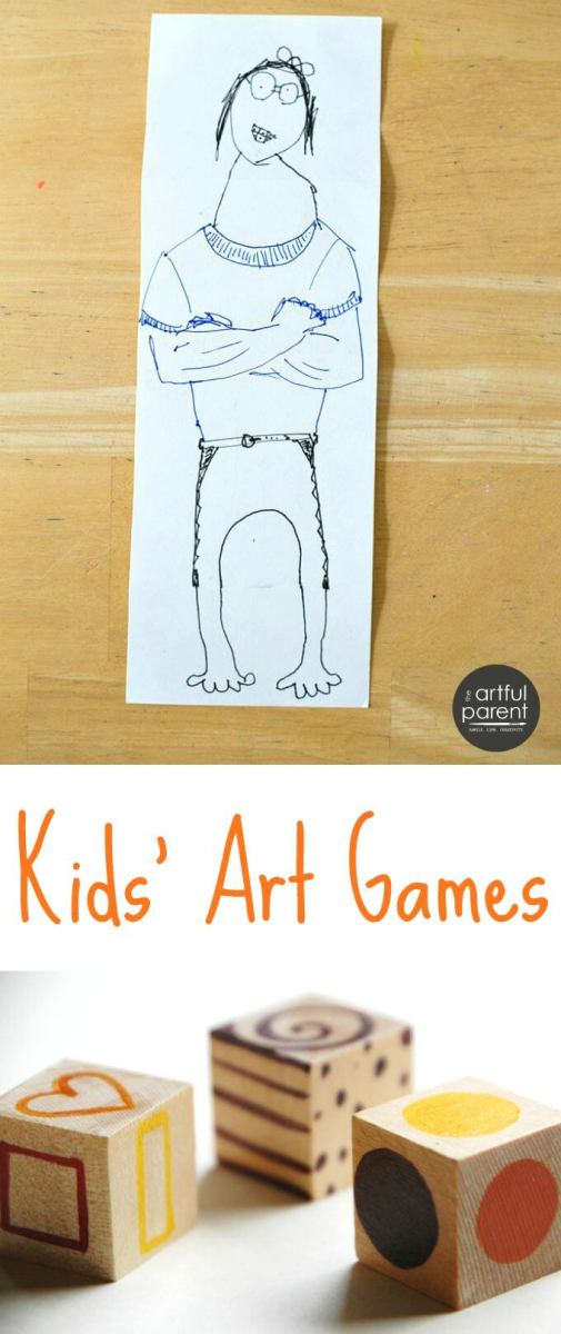 12 Kids Art Games for Fun and Creativity