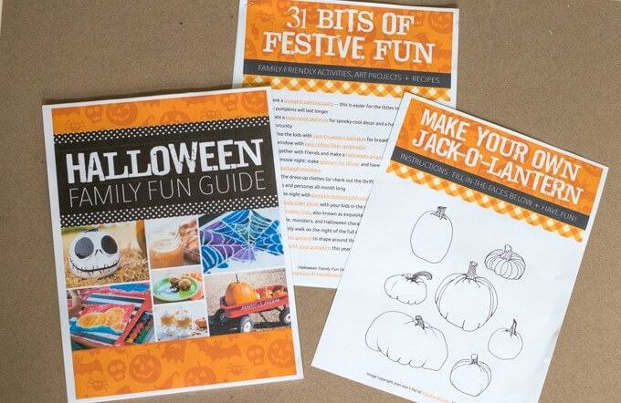 Halloween Activities Guide Plus Two Free Printables