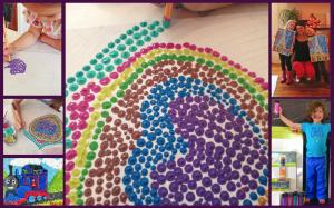 Pointillism Inspired