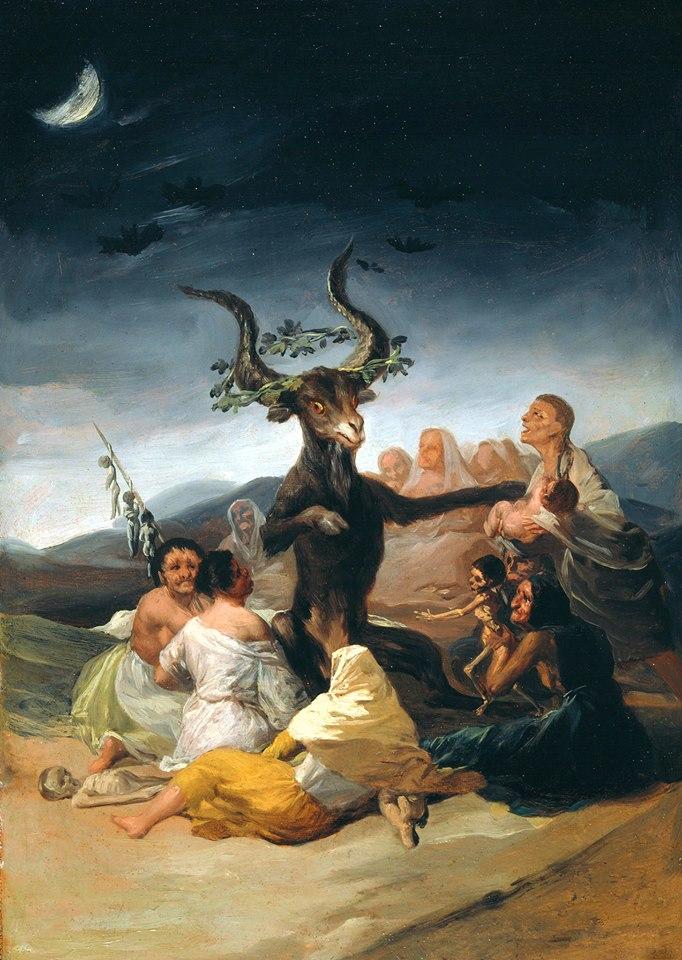 Crédit: Le Sabbat des sorcières, tableau de Francisco de Goya