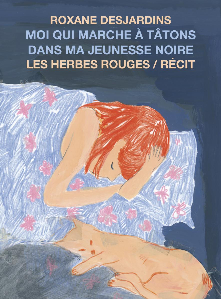 Page couverture du recueil: «Moi qui marche à tâtons dans ma jeunesse noire» Source: Site web de Dimedia