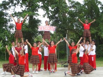 Seniors Cheering Squad