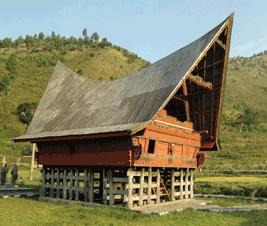 sumatera barat rumah adat di terkenal dengan nama gadang atau godang nama lain dari rumah yaitu