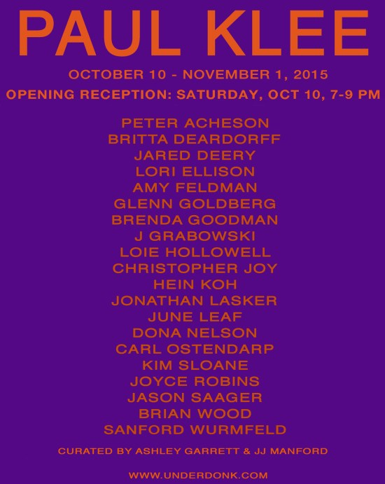 Klee-invite
