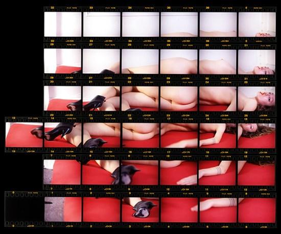 Gaspar_Marquez_Woman_Chewing_Gum_2013_nkjet Print_44%22 x 52_Espejo_Organization_Arts_small