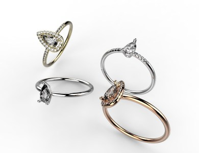 vente en ligne solitaire or et diamants