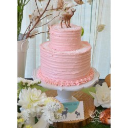 Artistic Pink Woodland Baby Shower Cake Woodland Baby Shower Artisan Cake Company Woodland Baby Shower Games Woodland Baby Shower Girl