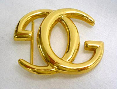Gold-Plated Vintage Buckle