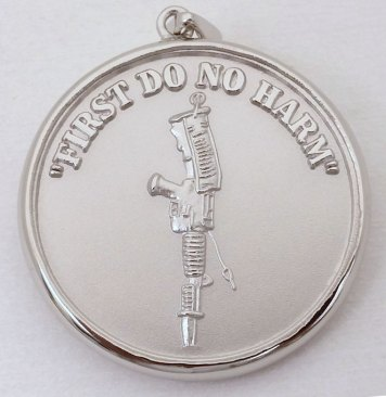 Military medallions: Honoring Special Forces Medics
