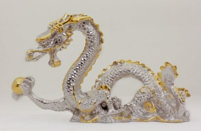 Dragon holding a pearl