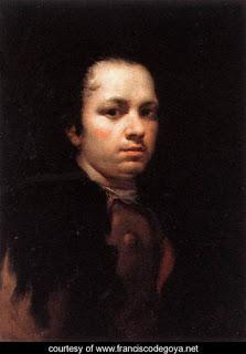 Self-Portrait, Francisco Goya