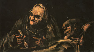 Two Old People Eating Soup, Francisco Goya