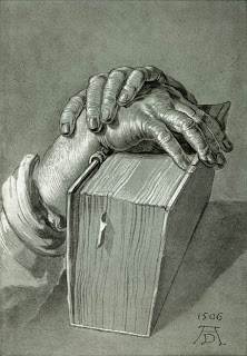 Hand Study with Bible, Albrecht Dürer