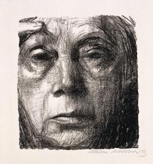 kathe-kollwitz-self-portrait