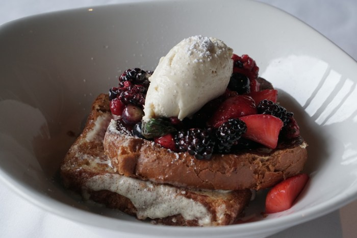 french toast canoe