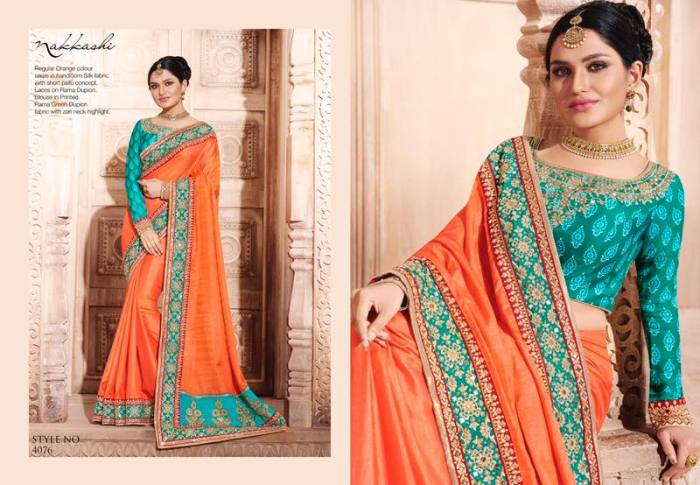 Nakkashi Elegance Euphony Designer Saree 4076 | Party Wear for LadiesShop Online Nakkashi Elegance Euphony Designer Saree 4076 @ArtistryC | Best Price: Rs 4096 or $ 68 | Free shipping in India - International shipping