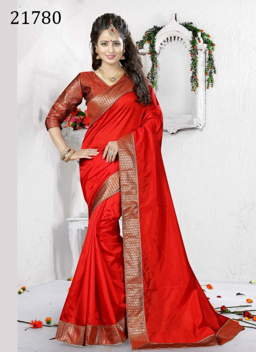 Art Silk Saree Riana 21780 | Occassional Wear for Ladies