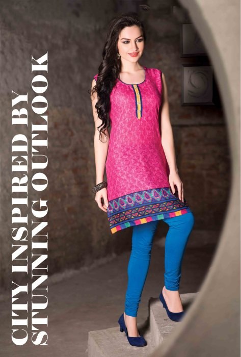 Cotton Readymade Kurti Femin CB048 | Daily Wear for Ladies