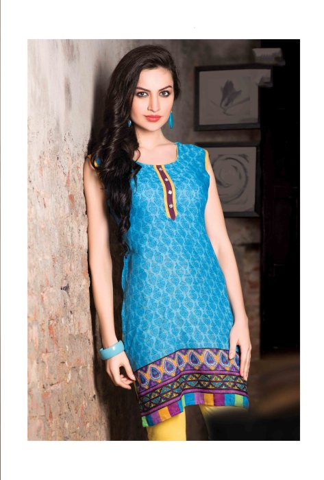 Cotton Readymade Kurti Femin CB049 | Daily Wear for Ladies