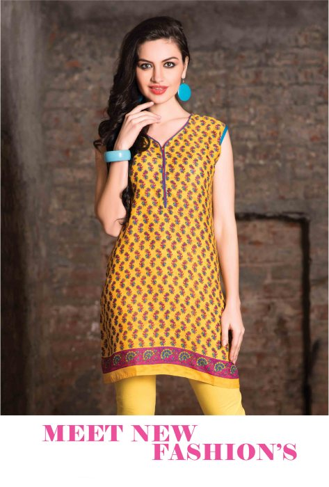 Cotton Readymade Kurti Femin CB057 | Daily Wear for Ladies
