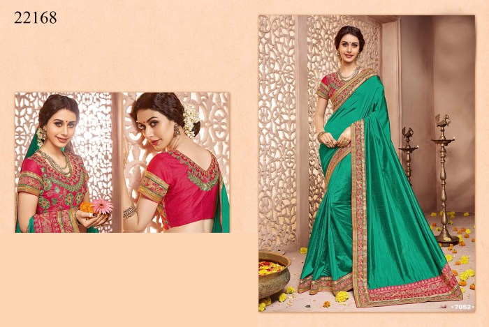 Newly Wedded Bridal Saree Dania 22168 | Bride Special