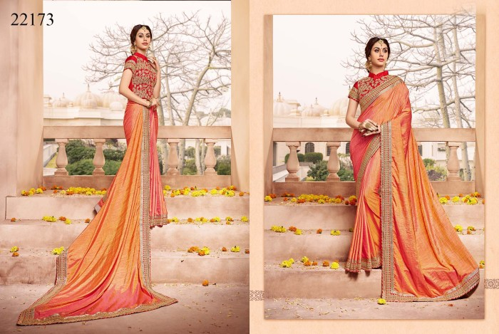 Newly Wedded Bridal Saree Dania 22173 | Bride Special