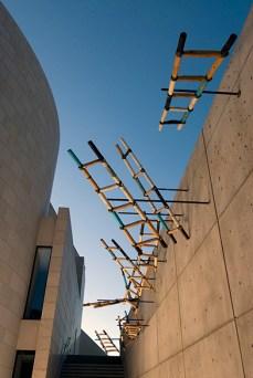 Alonzo Davis Sky Ladders installation #2 AMU 5x8 72 dpi