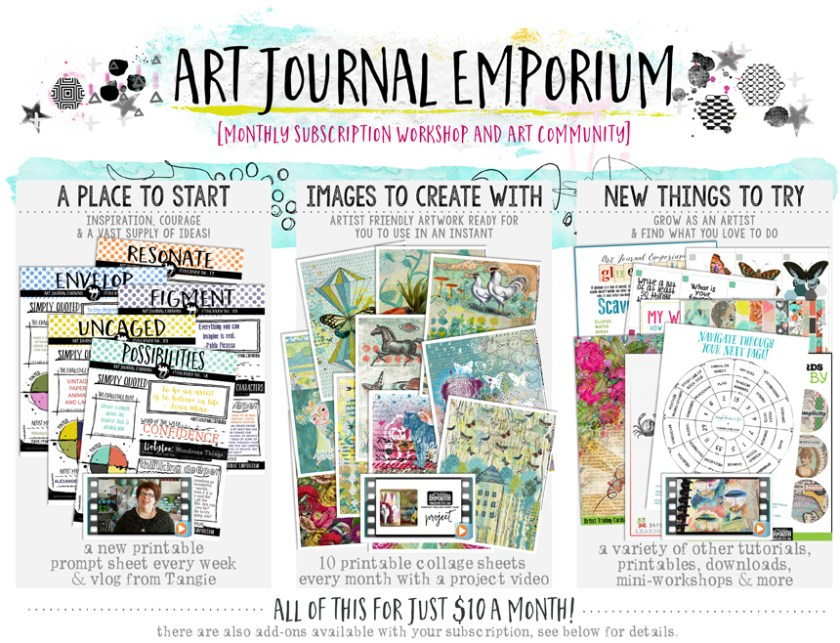 Art Journal Caravan and the Art Journal Emporium