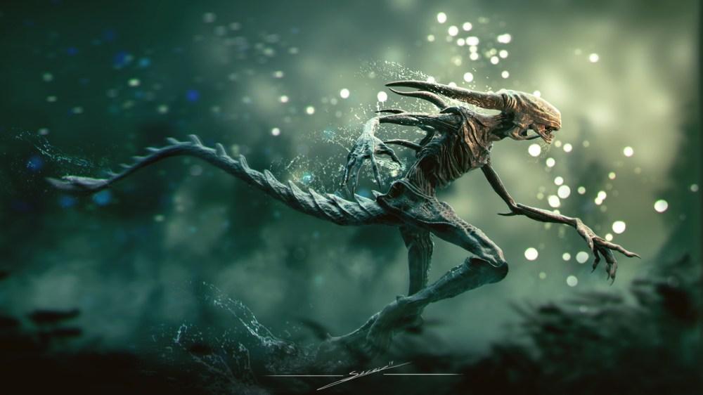 alien redesign by soren